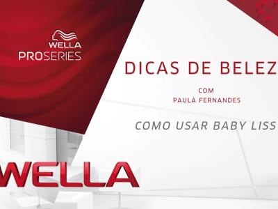 Wella Pro Series Paula Fernandes